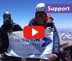 Man climbs Mt. Everest to raise money for patients