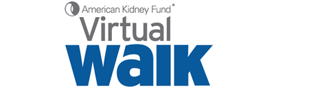 American Kidney Fund Virtual Walk