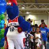 Washington Wizards Mascot at Kidney Action Day